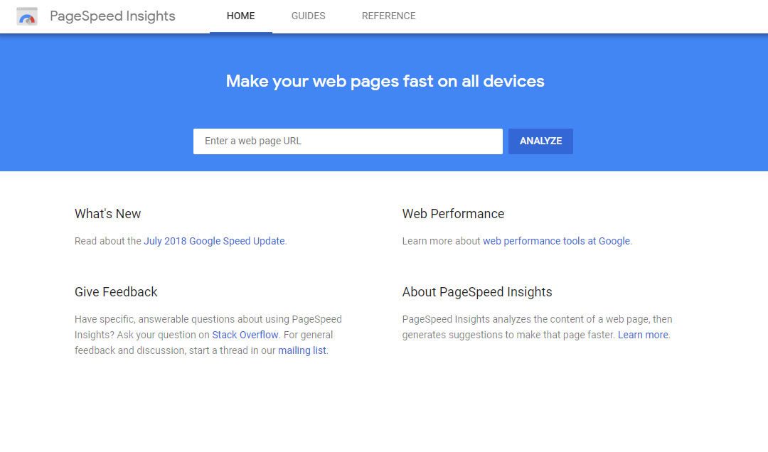 Details of the Google PageSpeed Insights v5 Update